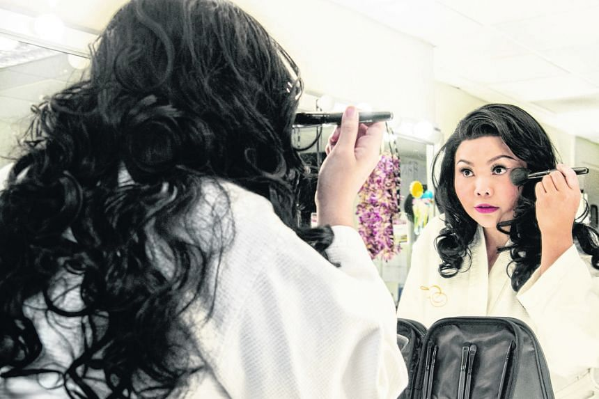 Siti Khalijah Zainal takes on the roles of her past self in An Actress Prepares.