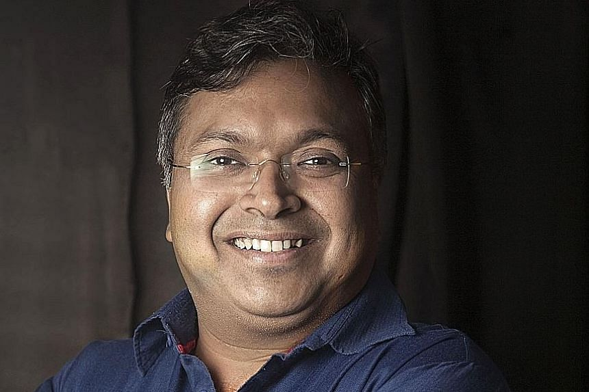 Author Devdutt Pattanaik (above) will tell the stories of goddesses in Indian mythology with music from pianist Anil Srinivasan in Tales In Black & White.