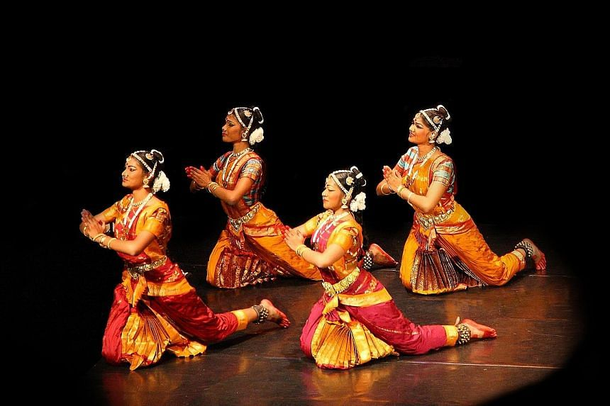 Stree Shakti focuses on three heroines - Savitri and Ghandari from Sanskrit epic Mahabharata, and Kannagi from Tamil epic Silapathikaram.