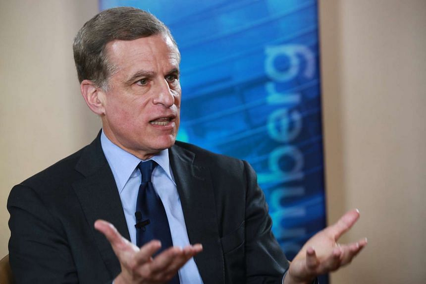 Federal Reserve Bank of Dallas president Robert Kaplan speaks during a Bloomberg Television interview in Mexico City on Nov 4, 2016.