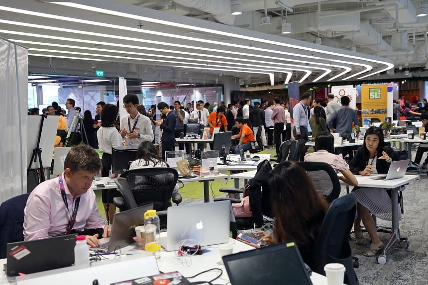 Twenty-three financial institutions opened their fintech labs and innovation centres to visitors as Singapore kicked off the FinTech Festival yesterday.