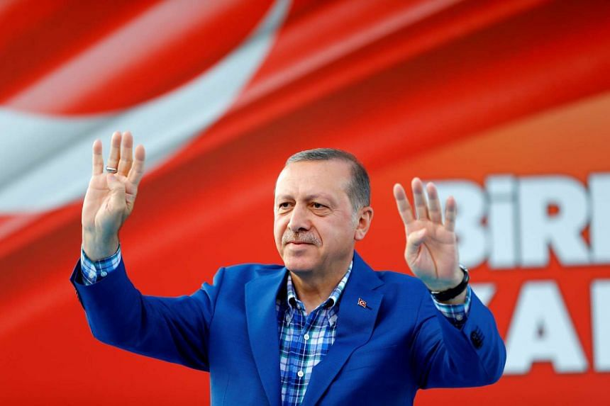 President Tayyip Erdogan said he was ready to hold a referendum on whether to continue EU membership talks and reiterated that he would restore the death penalty – a move sure to scupper the EU talks - if his parliament passed such a law.