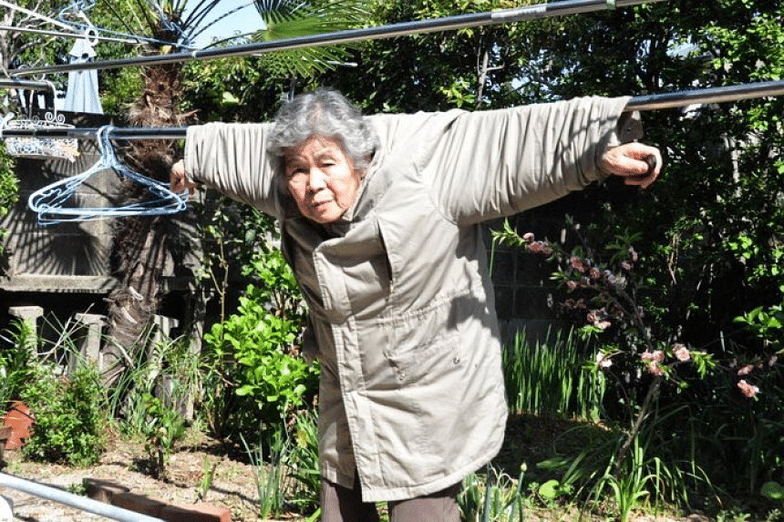 Ms Kimiko Nishimoto, a professional cyclist-turned-amateur photographer, only started photography at age 72.