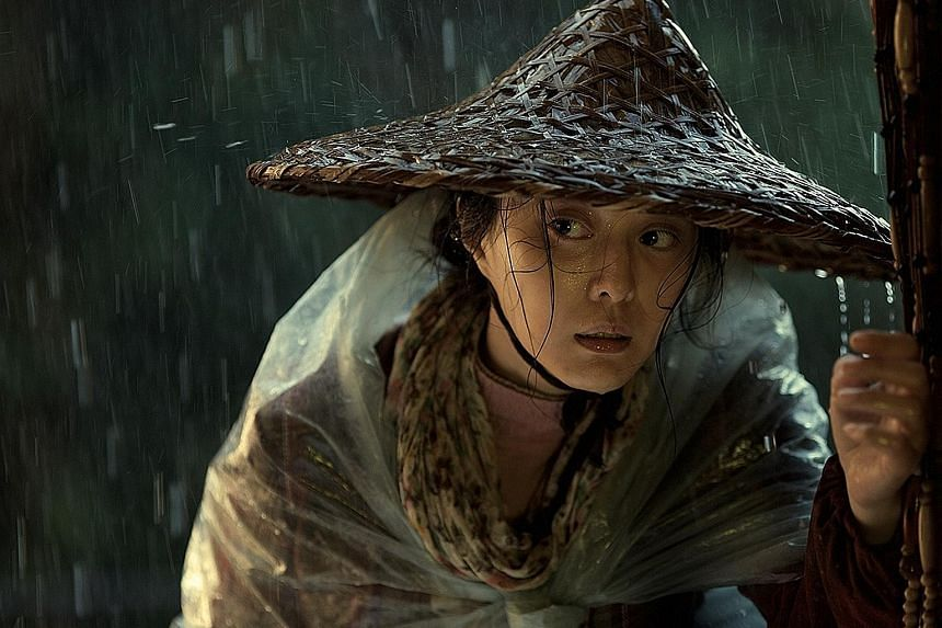 Fan Bingbing plays a peasant who travels from village to town to city to seek justice.