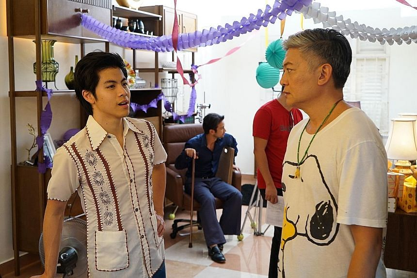 Wonder Boy, which stars Benjamin Kheng (above left), is co-directed by Dick Lee (above right), and filmed in Penang.