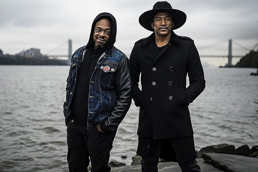 Q-Tip (left) and Jarobi White of A Tribe Called Quest.