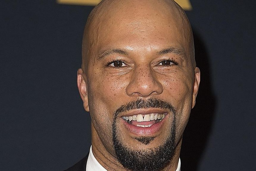 Rapper Common (above) is a Grammy- and Oscar-winning artist.