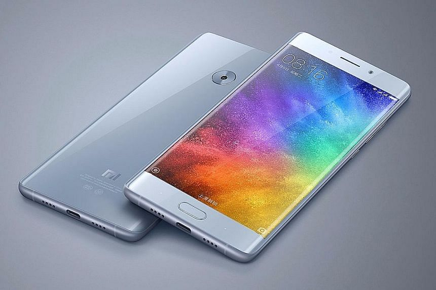 The Xiaomi Mi Note 2 is officially sold only in China.