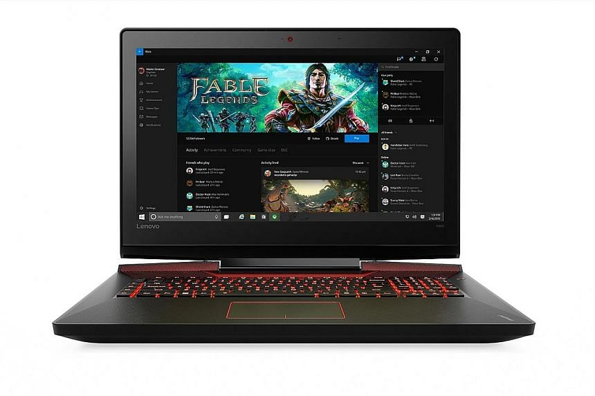 Build quality of the Lenovo IdeaPad Y900 is solid, with its chassis showing no sign of creaking under pressure.