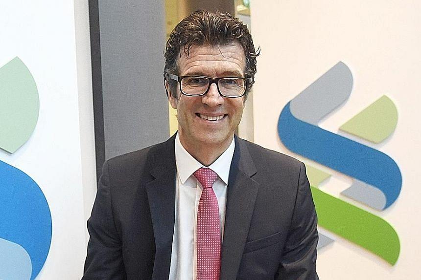 Standard Chartered's Michael Gorriz (above).