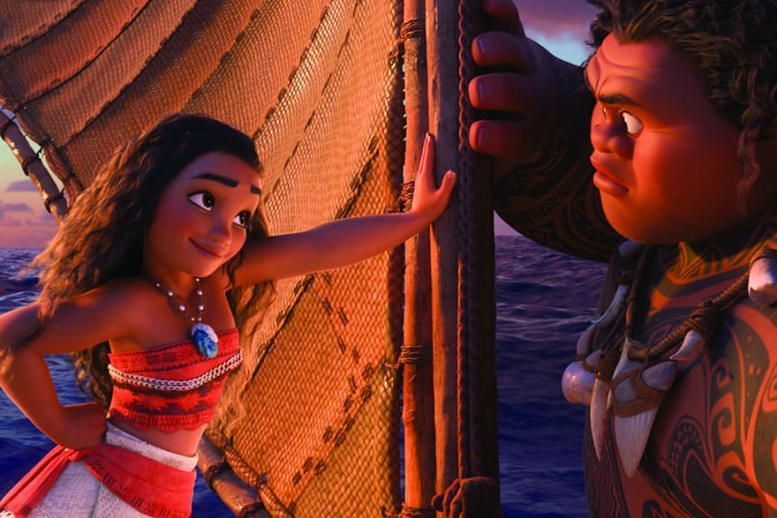 Moana, voiced by Auli'i Cravalho, is no damsel in distress.
