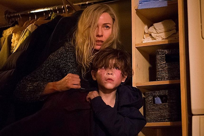 Naomi Watts is a child psychologist and Jacob Tremblay (both above) her patient in Shut In.