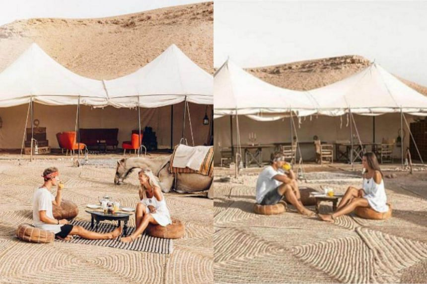 Australian blogger Lauren Bullen discovered that her photographs had been recreated by another woman.