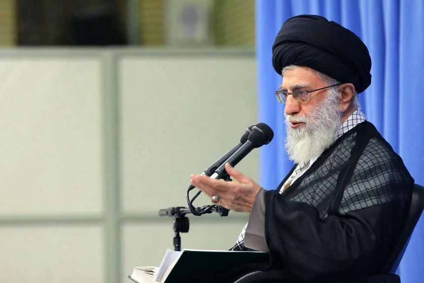 """Iran's supreme leader Ali Khamenei said Wednesday (Nov 16) that the result of the US election made """"no difference"""" to the Islamic republic."""