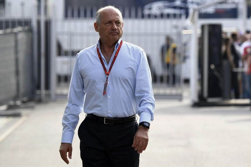 "McLaren's majority shareholders have placed Ron Dennis on ""gardening leave"" until his contract expires in mid-January next year."