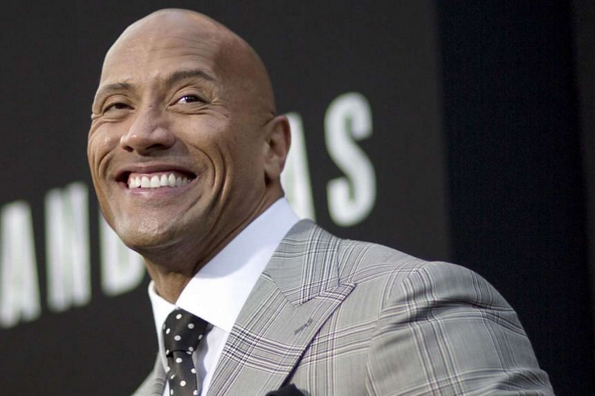 "US professional wrestler Dwayne Johnson, best known as ""The Rock"", is considering entering politics, and maybe even a run for the White House."
