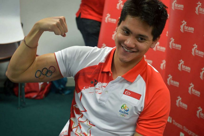 Joseph Schooling, 21, will be back in the Republic for a week from Friday (Nov 18), chiefly for a Singapore Swimming Association golf fund-raiser next Tuesday (Nov 22).