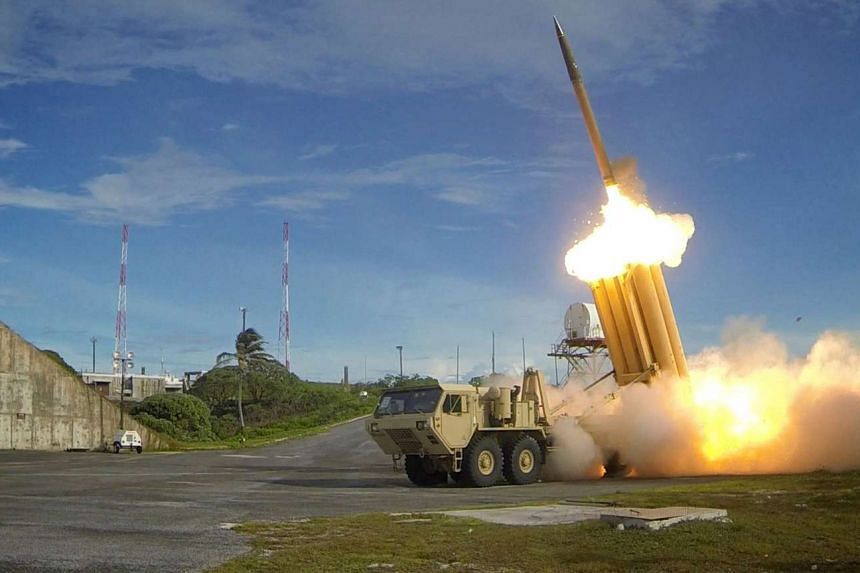 A Terminal High Altitude Area Defence (THAAD) interceptor is launched during a successful test.