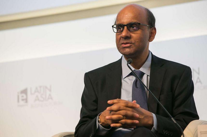 Deputy Prime Minister Tharman Shanmugaratnam.