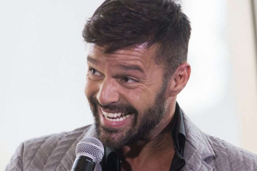 Ricky Martin announces his Las Vegas residency during a press conference on Nov 16, 2016.