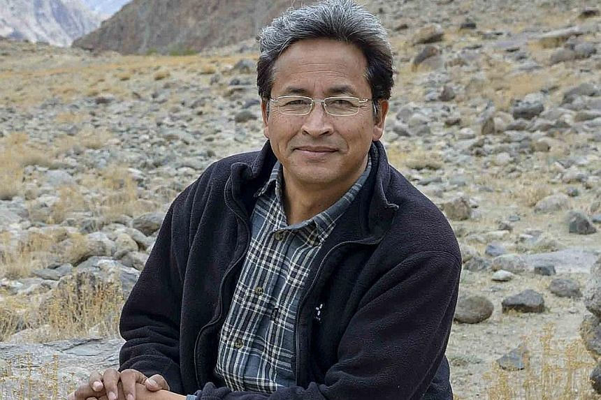 Engineer Sonam Wangchuk from Ladakh, India, builds artificial glaciers to supply water for agriculture in the desert landscapes of the western Himalayas. Biologist Vreni Haussermann documents the unknown and unique life at the bottom of the sea, comb