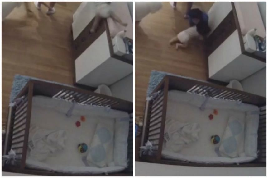 As his 11-month-old baby brother fell from a changing table, nine-year-old Joseph Levi dashed across the room to break the infant's fall.