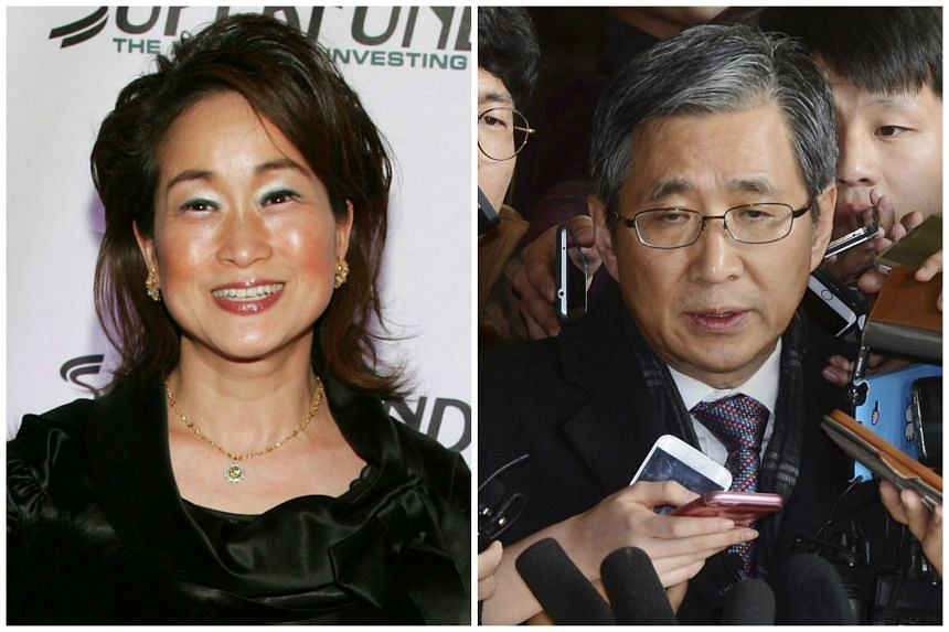 Cho Won Dong (right) is facing allegations that he pressured CJ Group to remove its chairwoman Milky Lee Mie Kyung (left) in late 2013.