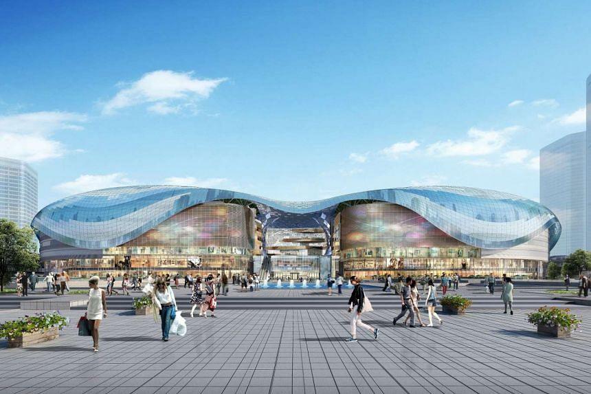 Suzhou Centre Mall.