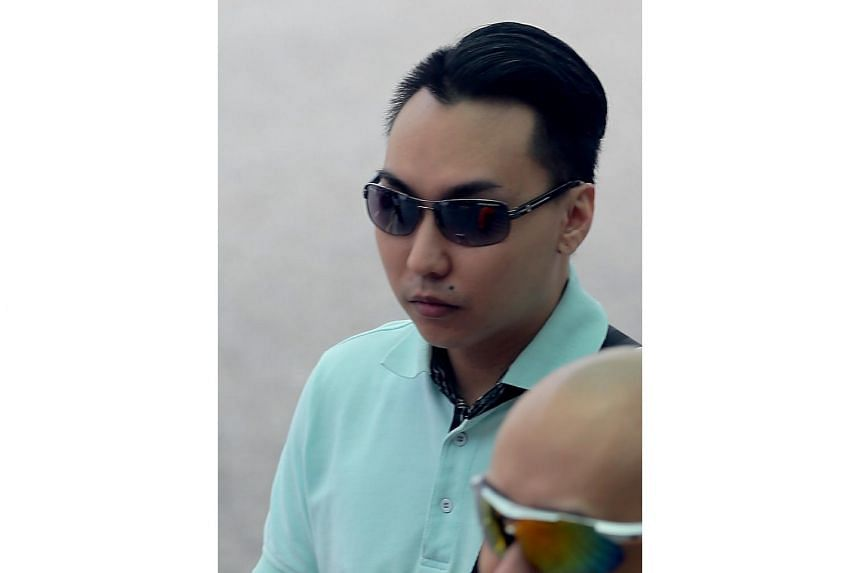 A 25-year-old woman let her boyfriend, Franklie Tan Guang Wei (pictured), 26, abuse her then one-year-old son. She was jailed for 10 months on Friday (Nov 18).