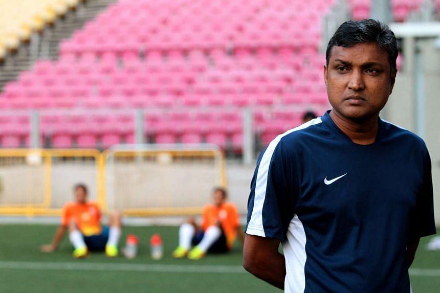 Singapore coach V. Sundramoorthy.