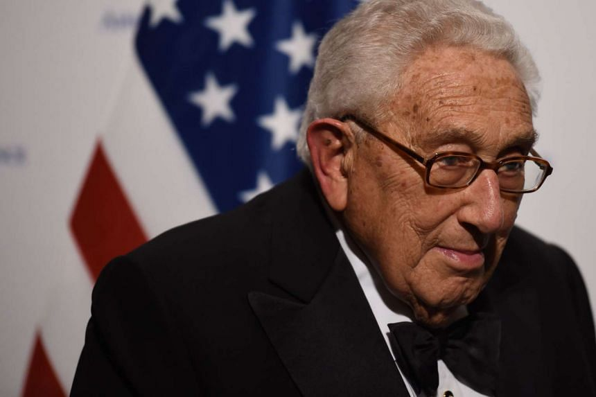 Donald Trump welcomed Henry Kissinger (above, in a file photo) to Trump Tower.