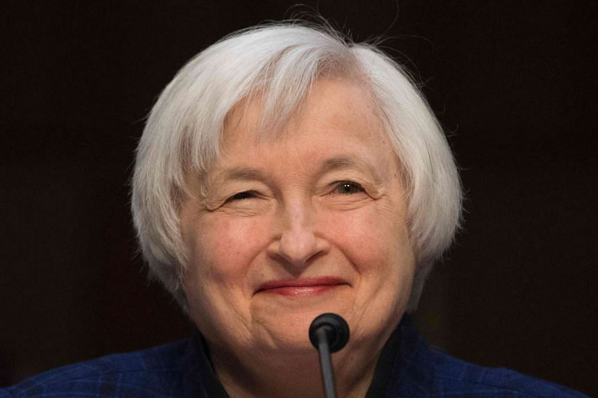 Yellen testifies before the Joint Economic Committee of Congress on Capitol Hill in Washington, DC, Nov 17, 2016.