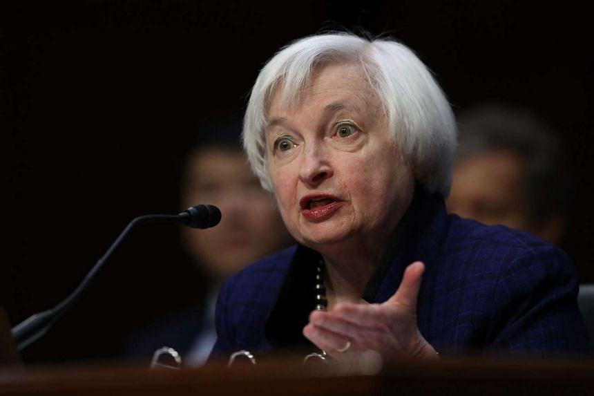 Dr Yellen said Fed policymakers at their meeting earlier this month judged that the case for a rate hike had strengthened.
