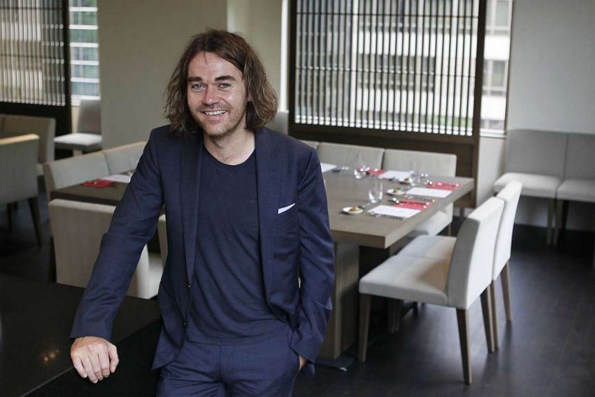 Celebrated and award-winning Australian chef Shannon Bennett, known for his three-hat restaurant Vue du Monde, pictured at The Miele Gallery on Sept 19, 2013.