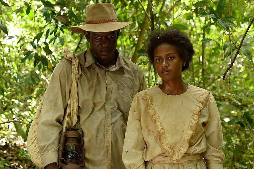 Andre Morris and Lakisha May (both left) in Panama Canal Stories, an anthology of five short dramas to be screened at the Keppel Latin American Film Festival.