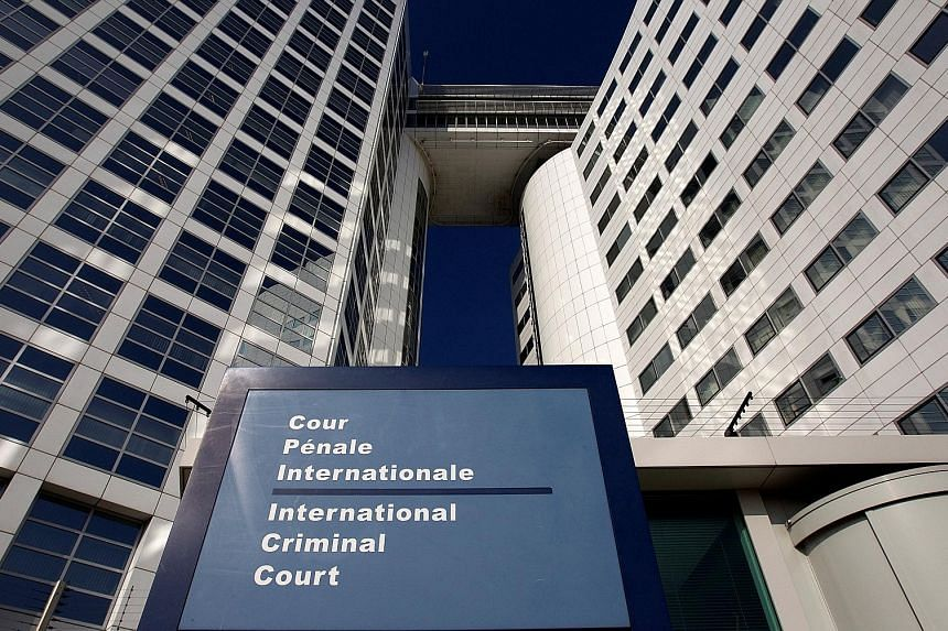 The International Criminal Court in The Hague, Netherlands. Last month, its chief prosecutor had warned that those behind the alleged extrajudicial killings in Mr Duterte's ongoing war on drugs could face prosecution.