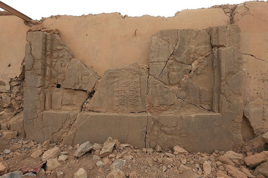 The scale of the devastation in Nimrud has become fully apparent only in recent days, after Iraqi soldiers advancing on the northern city of Mosul recaptured the ancient site from ISIS militants who took control of the area more than two years ago.