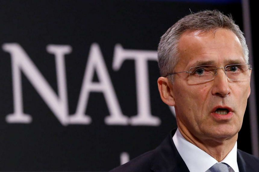 Trump spoke to Nato Secretary-General Jens Stoltenberg (above) by telephone on Friday.