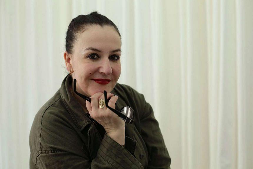 New York-based French designer Sophie Theallet.
