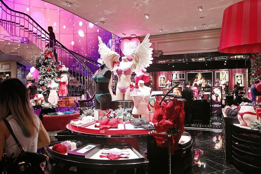 The South-east Asian flagship store of Victoria's Secret opened yesterday.