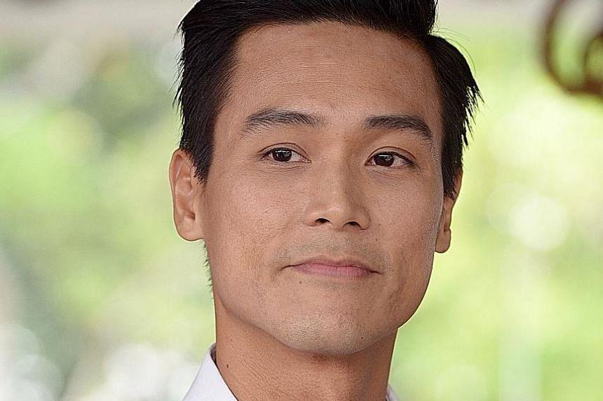 Actor Andie Chen