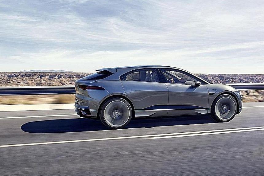 Jaguar's first all-electric car