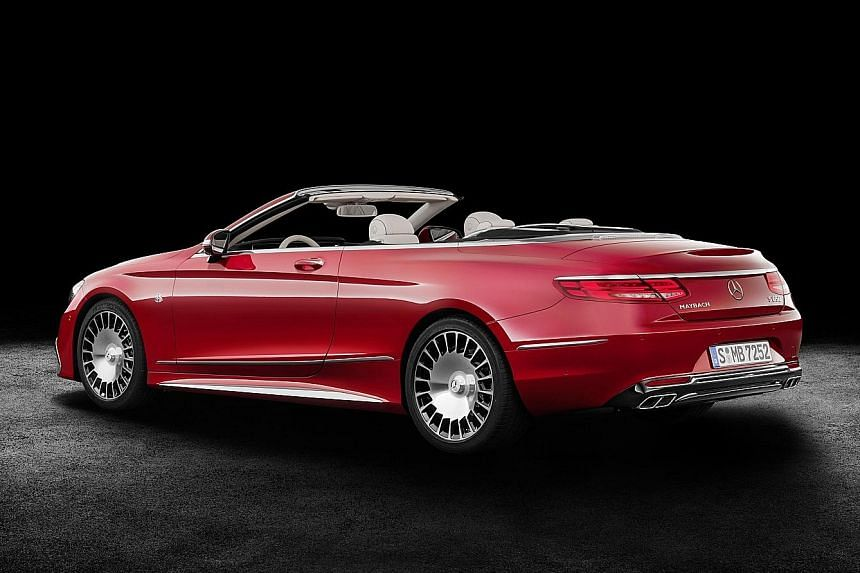 Mercedes-Maybach's  first cabriolet