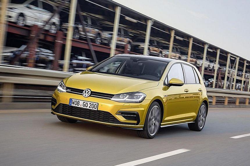 Volkswagen Golf gets overhaul