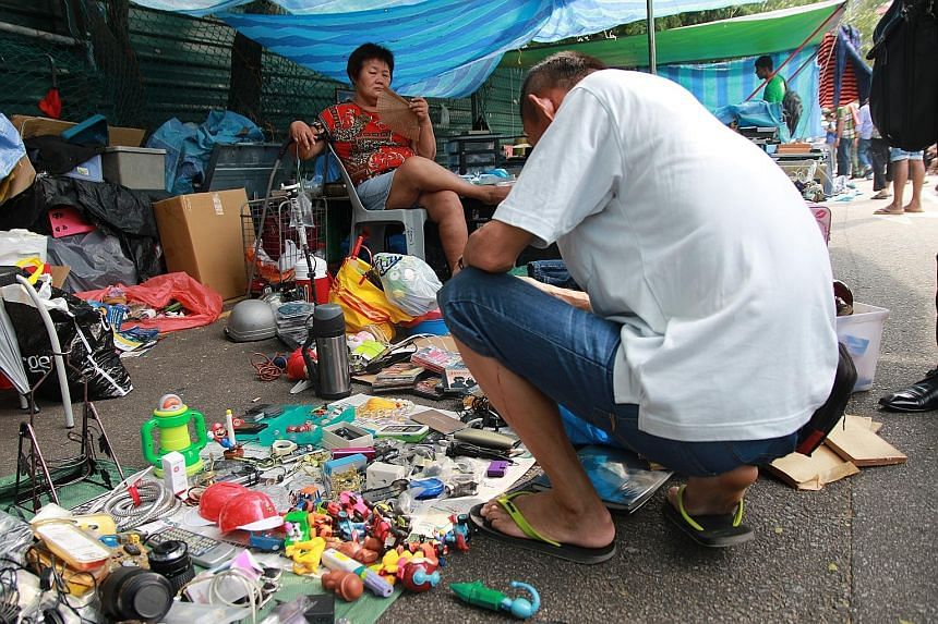 Surprising finds can be had at the Sungei Road flea market.