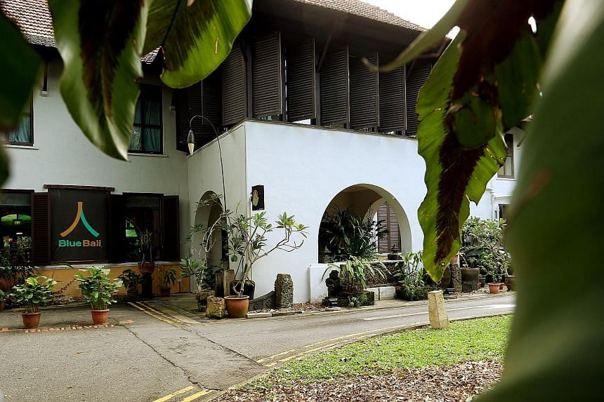 The National Parks Board will not be renewing the leases of the Institute of Policy Studies, the Bukit Timah Guild House, and Blue Bali restaurant (above) occupying the houses on the fringe of the Botanic Gardens. The latter has spent $2 million on i