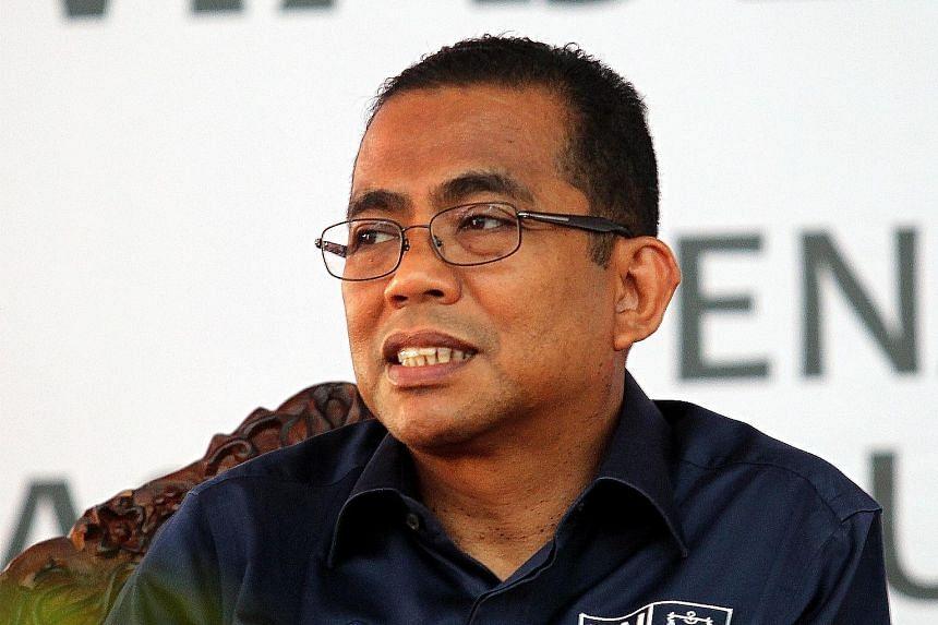JOHOR'S MENTERI BESAR MOHAMED KHALED NORDIN, on how Johor plans to meet rising demand for water.