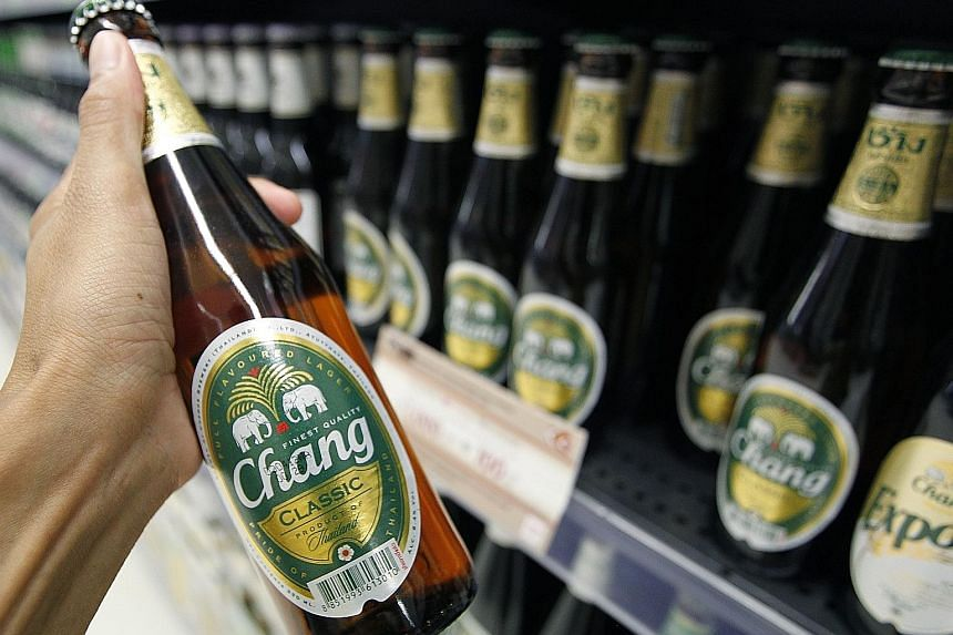 Higher sales in its beer, spirits, non-alcoholic beverages and food business helped ThaiBev's revenue from Jan 1 to Sept 30 rise to 139.2 billion baht, 14.8 per cent more than the 121.2 billion baht earned in the same period last year.