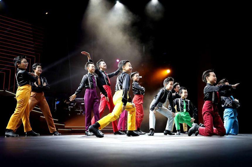 Performance by Boys Tap Group, Jitterbugs Swingapore.