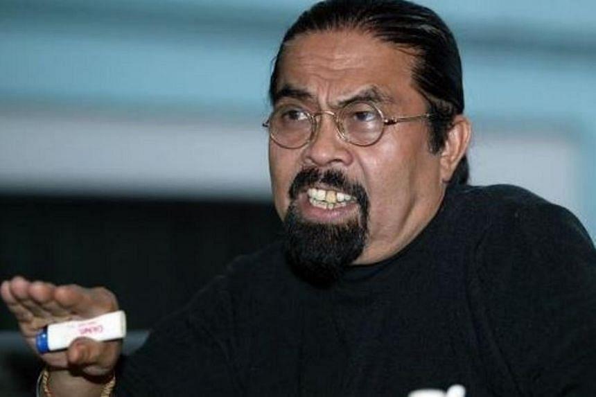 Political activist Hishamuddin Rais.